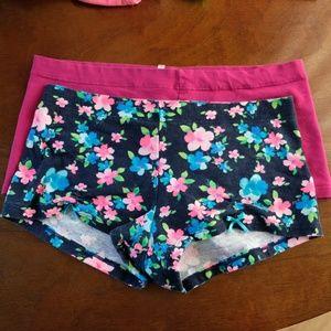 Victoria's Secret PINK LowRise Boyshort Bundle (M)